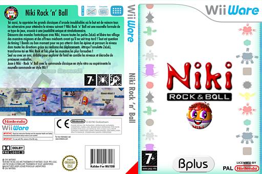 Niki - Rock 'n' Ball pochette WiiWare (WNKP)