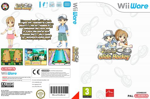 Family Glide Hockey pochette WiiWare (WOAP)