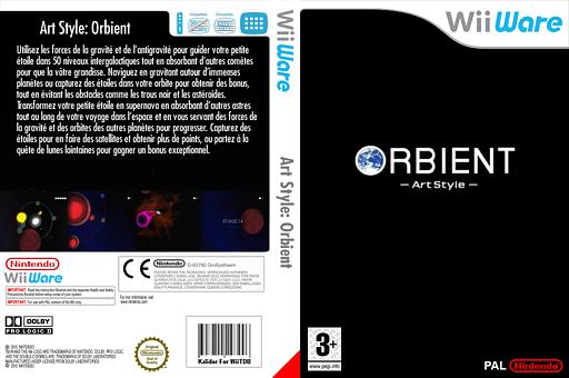 Art Style:ORBIENT pochette WiiWare (WOBP)