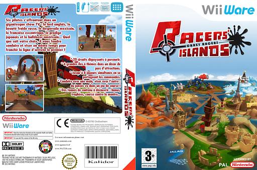 Racers Islands - Crazy Racers pochette WiiWare (WRJP)