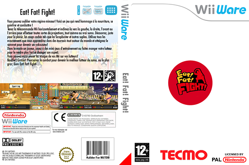 Eat! Fat! FIGHT! pochette WiiWare (WSMP)