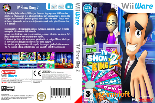 TV Show King 2 pochette WiiWare (WTKP)