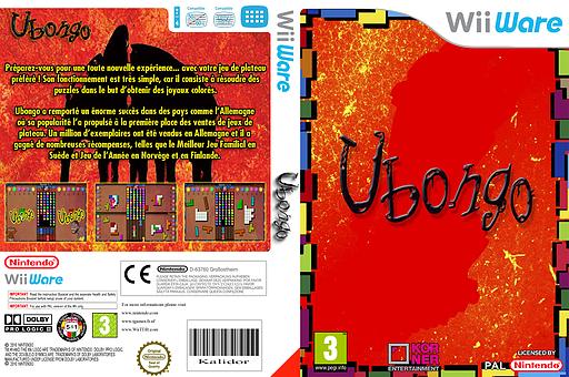 Ubongo pochette WiiWare (WUBP)