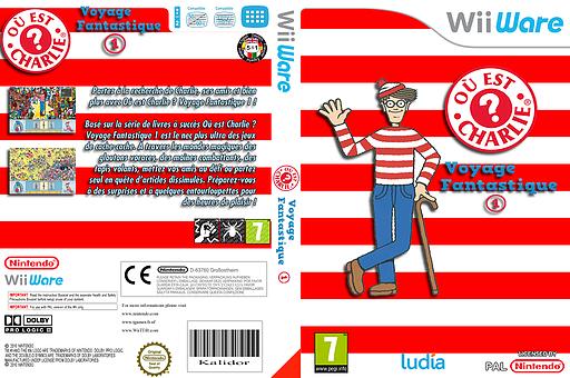 Où est Charlie?Voyage Fantastique 1 pochette WiiWare (WWIP)