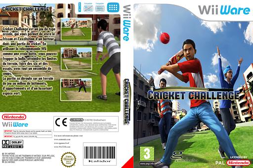 Cricket Challenge pochette WiiWare (WZBP)