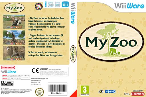 My Zoo pochette WiiWare (WZHP)