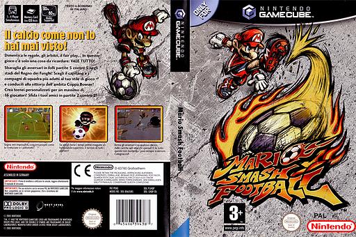 Mario Smash Football GameCube cover (G4QP01)