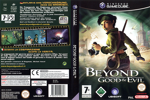 Beyond Good And Evil GameCube cover (GGEX41)