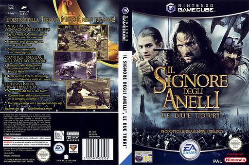 Il Signore degli Anelli: Le Due Torri GameCube cover (GLOI69)
