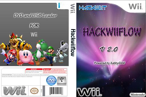 HackWiiFlow Homebrew cover (HWFL)