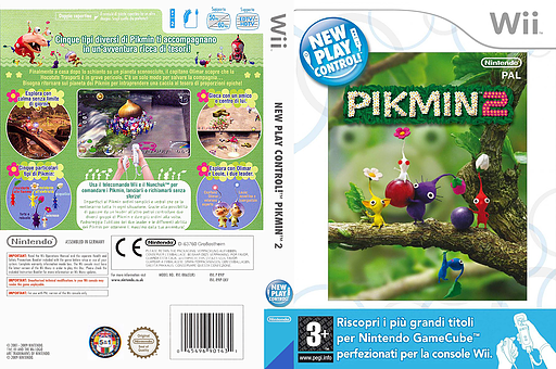 Pikmin 2 Wii cover (R92P01)
