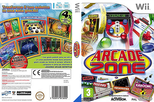 Arcade Zone Wii cover (R9XP52)