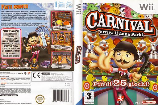 Carnival: Arriva il Luna Park! Wii cover (RCGP54)