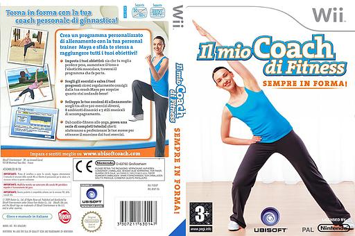 Il Mio Coach di Fitness: Sempre In Forma Wii cover (RFKP41)