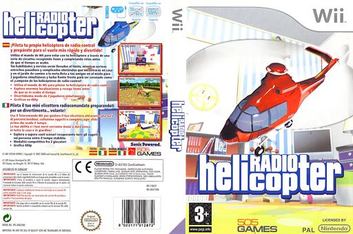 Radio Helicopter Wii cover (RGCPGT)