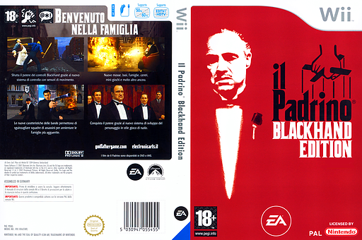 Il Padrino: Blackhand Edition Wii cover (RGFI69)