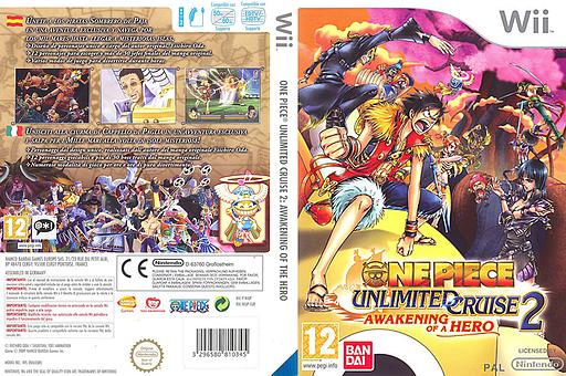 One Piece Unlimited Cruise 2: Il Risveglio di un Eroe Wii cover (RIUPAF)