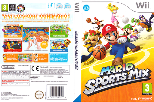 Mario Sports Mix Wii cover (RMKP01)