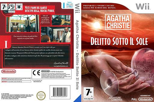 Agatha Christie: Delitto sotto il sole Wii cover (RQEP6V)