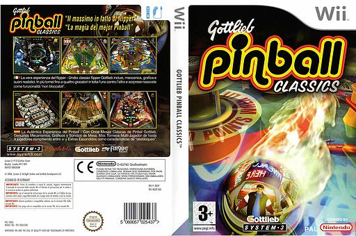 Gottlieb Pinball Classics Wii cover (RQSP6M)