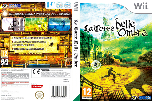 La Torre delle Ombre Wii cover (SDWP18)