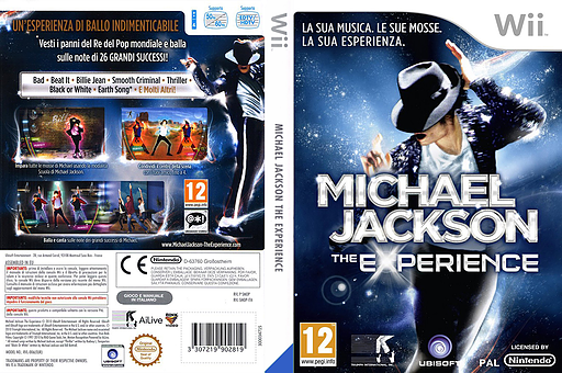 Michael Jackson The Experience Wii cover (SMOP41)