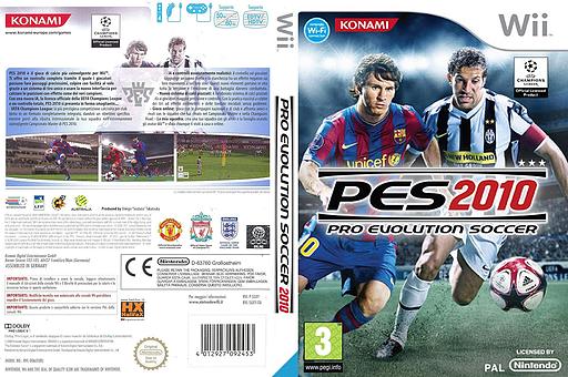 Pro Evolution Soccer 2010 Wii cover (SUXYA4)