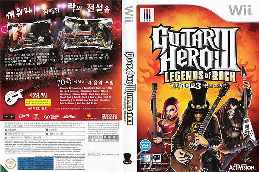 기타히어로3: 레전드 오브 락 Wii cover (RGHK52)