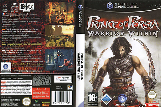 Prince of Persia: Warrior Within GameCube cover (G2OP41)