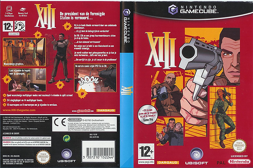 XIII GameCube cover (GX3P41)