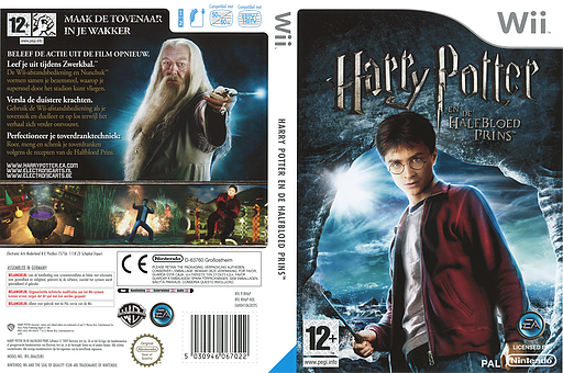 Harry Potter en de Halfbloed Prins Wii cover (RH6P69)
