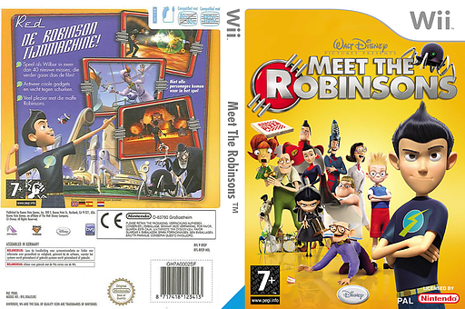 Meet The Robinsons Wii cover (RRSX4Q)