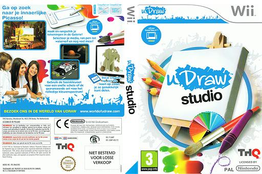 uDraw Studio Wii cover (SUWP78)