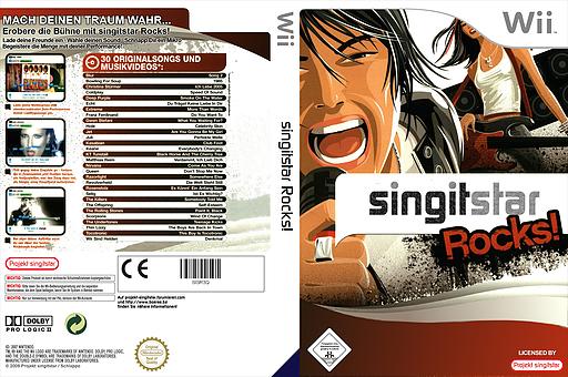 SingItStar Rocks! CUSTOM cover (SISR3Q)