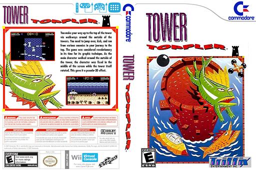 Tower Toppler VC-C64 cover (C94E)
