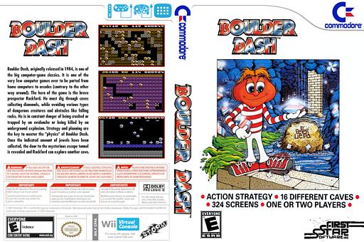 Boulder Dash VC-C64 cover (C9HE)