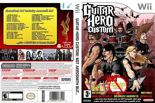 Guitar Hero Custom: NOT Aerosmith but... CUSTOM cover (CANE52)