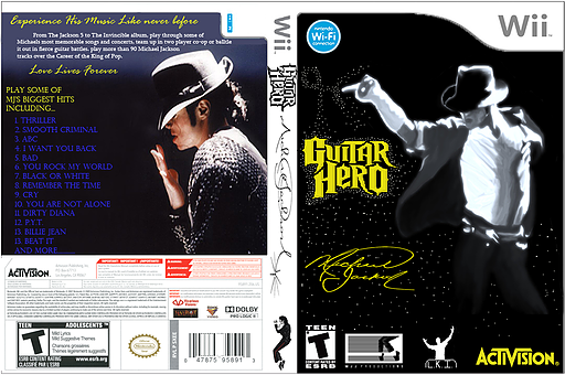 Guitar Hero III Custom : Michael Jackson CUSTOM cover (CFEE52)