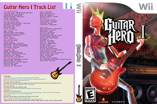 Guitar Hero III Custom:Guitar Hero I CUSTOM cover (CGHE87)