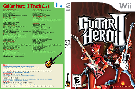 Guitar Hero III Custom : Guitar Hero II CUSTOM cover (CGHE88)