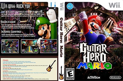 GH3: Mario CUSTOM cover (CGHE89)