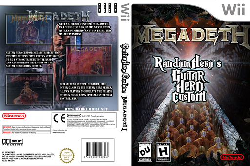 Guitar Hero III Custom: Megadeth CUSTOM cover (CMDE52)