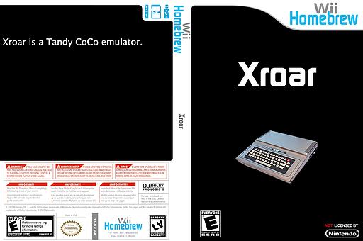 Xroar Homebrew cover (D21A)