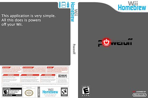 Power Off Homebrew cover (D7VA)