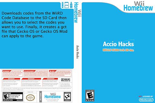 Accio Hacks Homebrew cover (DAHA)