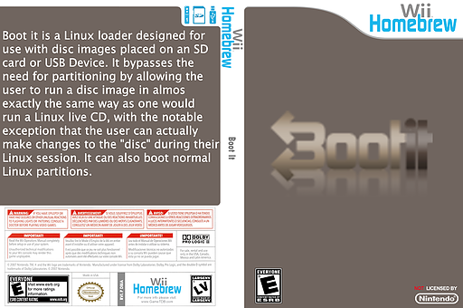 Boot It Homebrew cover (DBIA)