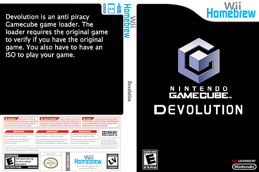 Devolution Homebrew cover (DDVA)