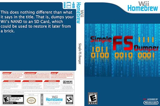 Simple fs dumper Homebrew cover (DFFA)