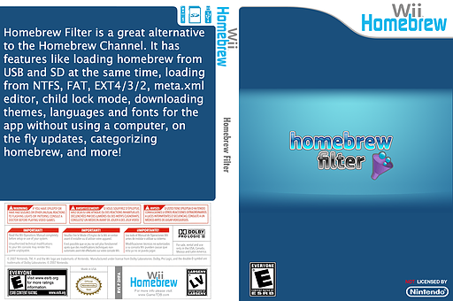 Homebrew Filter Homebrew cover (DHFA)