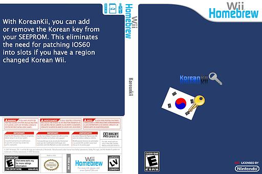 Koreankii Homebrew cover (DKKA)